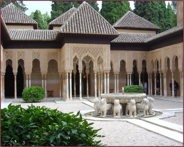 Court of the Lions, Alhambra, Granada, Andalusia