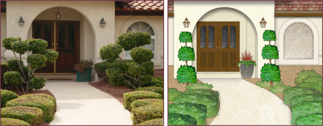 tiered topiary 2