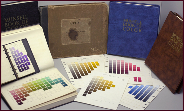 Munsell Colour books. Photo Credit: Mark Fairchild