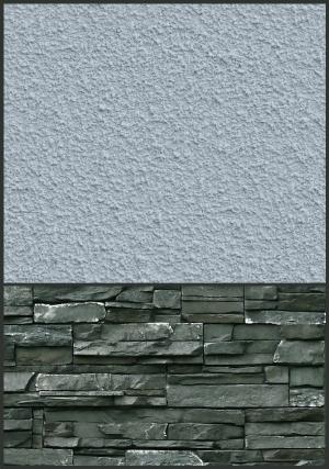 stone siding - cool